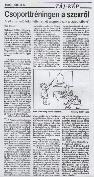 1996. Napló