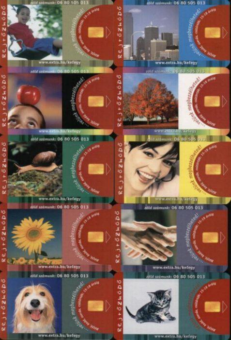 2001. Rejtozkodokartya