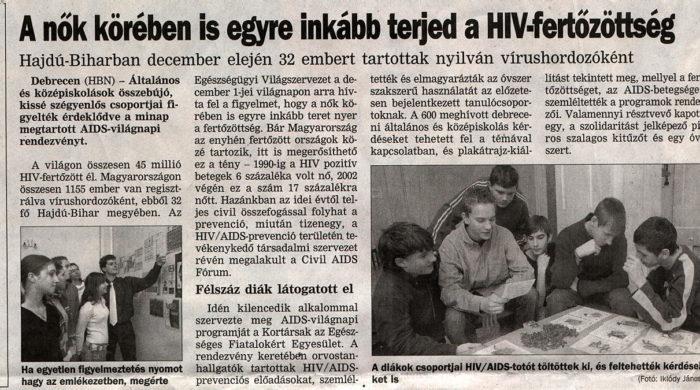 AIDS-Cikk-Napló
